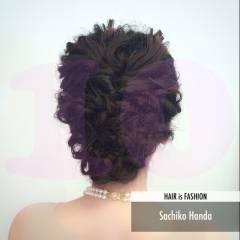 結婚式 ミディアム 愛され ヘアアレンジ ヘアスタイルや髪型の写真・画像