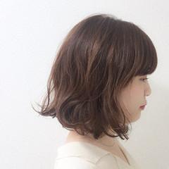 ウェーブ 大人かわいい アンニュイ ナチュラル ヘアスタイルや髪型の写真・画像