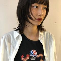 ハイトーンカラー ウルフカット ストリート ショートヘア ヘアスタイルや髪型の写真・画像