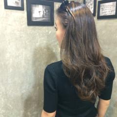 外国人風 ナチュラル グラデーションカラー ロング ヘアスタイルや髪型の写真・画像
