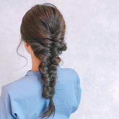 ロング ヘアアレンジ 女子力 簡単ヘアアレンジ ヘアスタイルや髪型の写真・画像