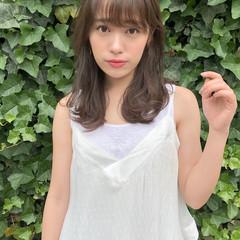 デート 外ハネ 大人かわいい 夏 ヘアスタイルや髪型の写真・画像