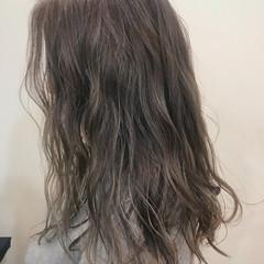 ロング グラデーションカラー ハイライト エレガント ヘアスタイルや髪型の写真・画像