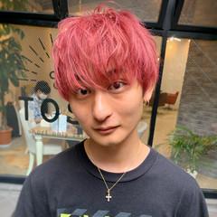 赤髪 ストリート ショート レッド ヘアスタイルや髪型の写真・画像