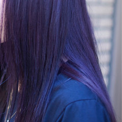 ロング ストリート ダブルカラー 外国人風カラー ヘアスタイルや髪型の写真・画像