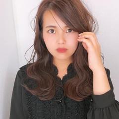 髪質改善トリートメント 髪質改善カラー 髪質改善 セミロング ヘアスタイルや髪型の写真・画像