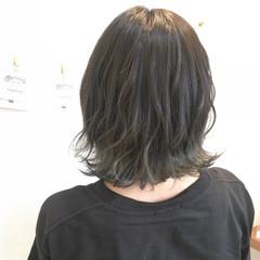 ヘアアレンジ 外国人風カラー ボブ ナチュラル ヘアスタイルや髪型の写真・画像