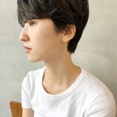 黒髪 ショート かわいい 愛され ヘアスタイルや髪型の写真・画像