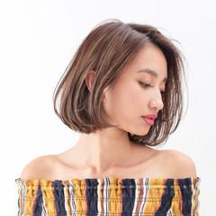 ナチュラル 簡単ヘアアレンジ ボブ ヘアアレンジ ヘアスタイルや髪型の写真・画像