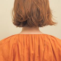 ボブ ナチュラル ボブ  ヘアスタイルや髪型の写真・画像