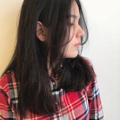 アンニュイほつれヘア パーマ デジタルパーマ ロング ヘアスタイルや髪型の写真・画像