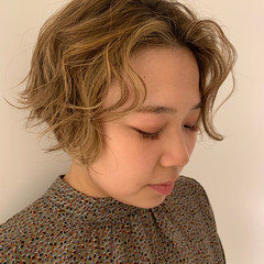 簡単ヘアアレンジ デート ヘアアレンジ ショート ヘアスタイルや髪型の写真・画像