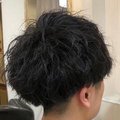 スパイラルパーマ メンズマッシュ メンズ メンズパーマ ヘアスタイルや髪型の写真・画像