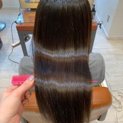 髪質改善 大人かわいい ロングヘア 髪質改善カラー ヘアスタイルや髪型の写真・画像