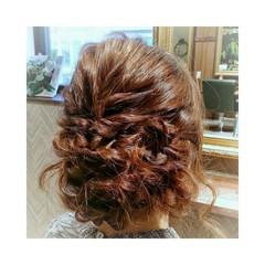 セミロング ゆるふわ 大人女子 フェミニン ヘアスタイルや髪型の写真・画像