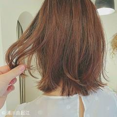 ボブ グラデーションカラー デートヘア 大人かわいい ヘアスタイルや髪型の写真・画像