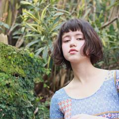 大人かわいい 暗髪 外国人風 ボブ ヘアスタイルや髪型の写真・画像