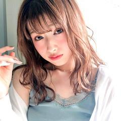 アンニュイ インナーカラー パーティー ナチュラル可愛い ヘアスタイルや髪型の写真・画像
