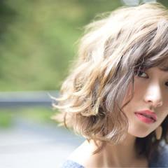 ピュア ナチュラル 耳かけ 色気 ヘアスタイルや髪型の写真・画像