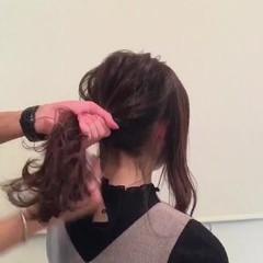 秋 デート 透明感 ハイライト ヘアスタイルや髪型の写真・画像