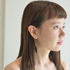 ニュアンス リラックス ガーリー セミロング ヘアスタイルや髪型の写真・画像