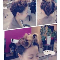 ストリート 三つ編み ガーリー モード ヘアスタイルや髪型の写真・画像