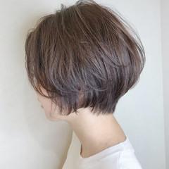 ストリート デート ショートヘア ショート ヘアスタイルや髪型の写真・画像