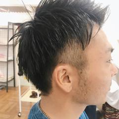 ボーイッシュ メンズ 坊主 ナチュラル ヘアスタイルや髪型の写真・画像