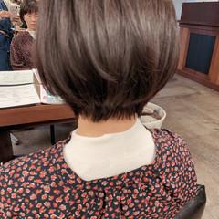 ショートボブ 大人ヘアスタイル 大人女子 大人かわいい ヘアスタイルや髪型の写真・画像
