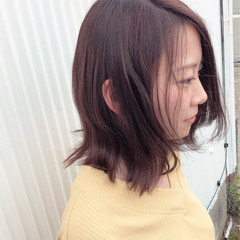 ロブ 簡単ヘアアレンジ ヘアアレンジ 成人式 ヘアスタイルや髪型の写真・画像