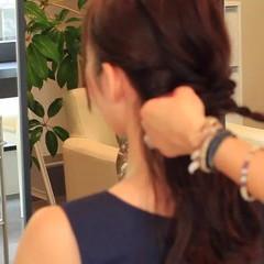 ショート セミロング 簡単ヘアアレンジ 和装 ヘアスタイルや髪型の写真・画像