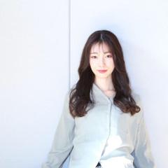 エレガント 韓国ヘア トリートメント ロング ヘアスタイルや髪型の写真・画像