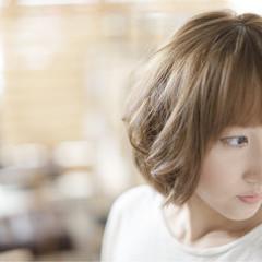 前髪あり 大人かわいい ナチュラル 大人女子 ヘアスタイルや髪型の写真・画像