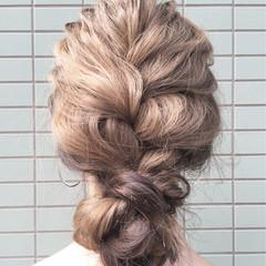 セミロング ストリート アッシュ ショート ヘアスタイルや髪型の写真・画像