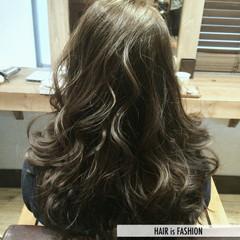 大人かわいい ガーリー 外国人風 セミロング ヘアスタイルや髪型の写真・画像