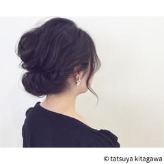 黒髪 外国人風 上品 エレガント ヘアスタイルや髪型の写真・画像