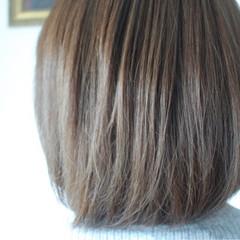 透明感 ボブ 女子力 ナチュラル ヘアスタイルや髪型の写真・画像