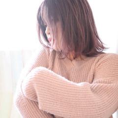 イルミナカラー グラデーションカラー フェミニン グラデーション ヘアスタイルや髪型の写真・画像