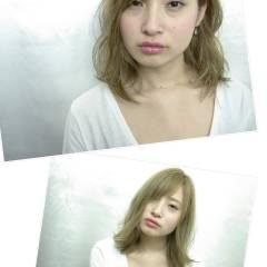 外国人風 ストリート ラフ ハイトーン ヘアスタイルや髪型の写真・画像