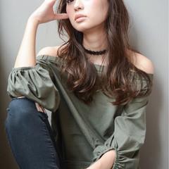 ストリート アンニュイ 外国人風 ロング ヘアスタイルや髪型の写真・画像