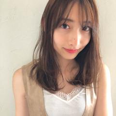 エフォートレス 涼しげ フェミニン 簡単ヘアアレンジ ヘアスタイルや髪型の写真・画像