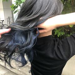 アンニュイ ハイライト ナチュラル グラデーションカラー ヘアスタイルや髪型の写真・画像