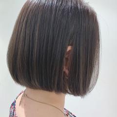 ミニボブ ショートボブ ボブ ナチュラル ヘアスタイルや髪型の写真・画像