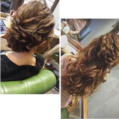 エレガント ロング アンニュイほつれヘア ふわふわヘアアレンジ ヘアスタイルや髪型の写真・画像
