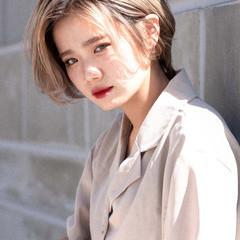 ショート ストリート ハンサムショート 小顔ショート ヘアスタイルや髪型の写真・画像