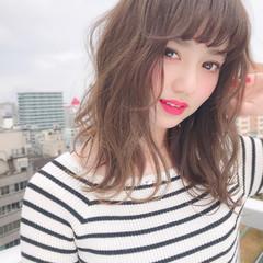 簡単ヘアアレンジ イルミナカラー 髪質改善 デート ヘアスタイルや髪型の写真・画像