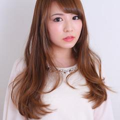 ゆるふわ 大人かわいい ロング 簡単ヘアアレンジ ヘアスタイルや髪型の写真・画像