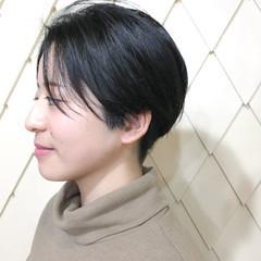 大人女子 ショート 大人かわいい ナチュラル ヘアスタイルや髪型の写真・画像