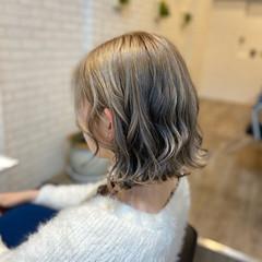 モード ボブ 切りっぱなしボブ ヘアスタイルや髪型の写真・画像