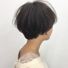 小顔ショート 大人ショート ショート ショートボブ ヘアスタイルや髪型の写真・画像